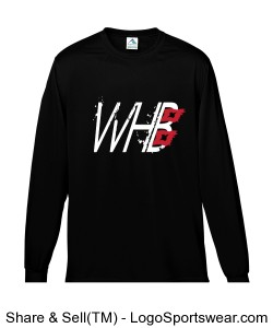 Long sleeve Moisture Wicking T-shirt Design Zoom